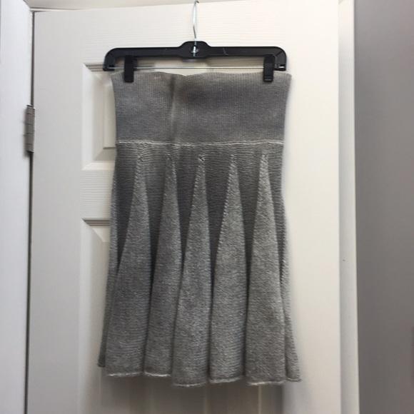 Dresses & Skirts - Grey wool blend skirt